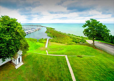 Photograph - View From Port Sanilac Light House by LeeAnn McLaneGoetz McLaneGoetzStudioLLCcom