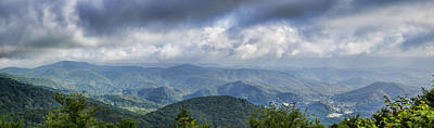 View From Roan Mountain Art Print by Heather Applegate