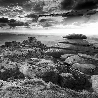 Photograph - View From Roughtor, Bodmin Moor by Bear R Humphreys