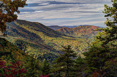 View From Round Mountain Art Print