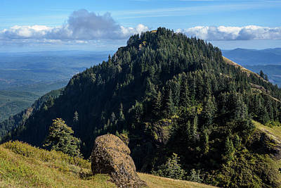 Photograph - View From Saddle Mountain by Robert Potts