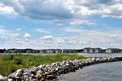 Photograph - View From Sandy Point - Ocean View Delaware by Kim Bemis