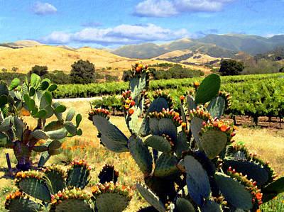 Photograph - View From Santa Rosa Road by Kurt Van Wagner