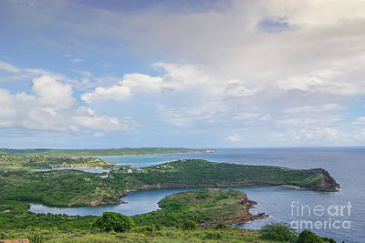 Photograph - View From Shirley Heights Antigua  by Olga Hamilton