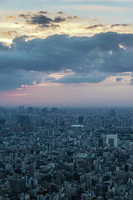 Photograph - View From Skytree At Sunset by Steven Richman