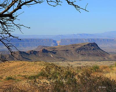 Photograph - View From Sotol Vista by Bob Zeller