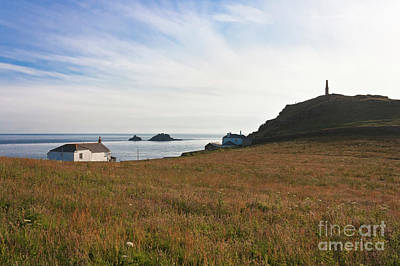 View From St Helen's Oratory Cape Cornwall Art Print