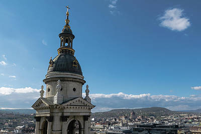 Photograph - View From St. Stephen's Basilica by Steven Richman