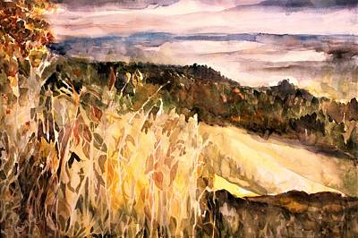 Painting - View From Sugar Mountain by Mindy Newman