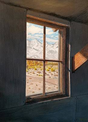 Historic Site Mixed Media - View From The Barracks by Joy Lavery