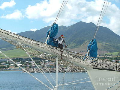 Photograph - St. Kitts From The Bow by Neil Zimmerman