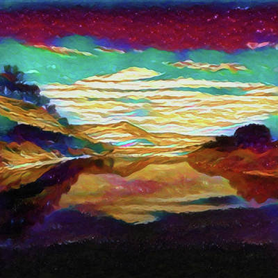 View From The Bridge Art Print
