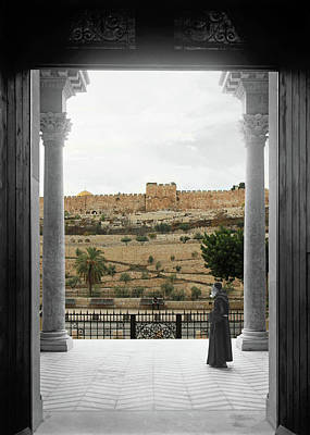 Photograph - View From The Church Of All Nations by Munir Alawi