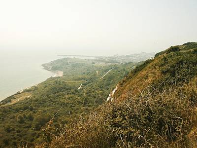 Photograph - View From The Cliffs, Folkestone, Kent, England by Samuel Pye