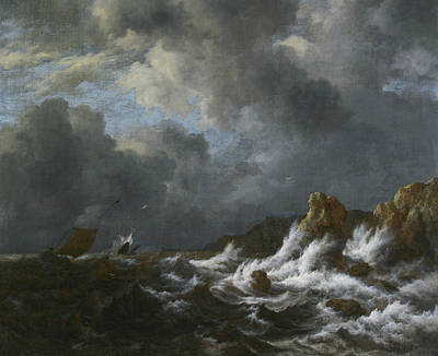 Painting - View From The Coast Of Norway by Jacob van Ruisdael