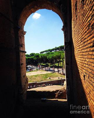 Photograph - View From The Colosseum by Angela Rath