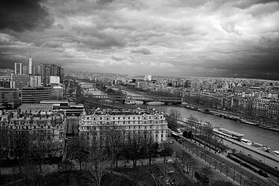 Photograph - View From The Eiffel Tower by Eric Wiles