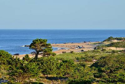 Photograph - View From The Great Dune At Cape Henlopen - Delaware by Kim Bemis