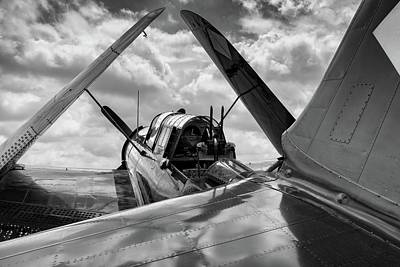 Photograph - View From The Helldivers Tail by Chris Buff