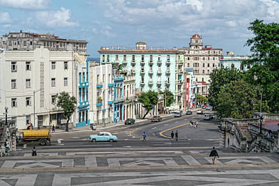 Photograph - View From The Hill Havana by Sharon Popek