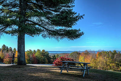 Photograph - View From The Hill by Jane Luxton
