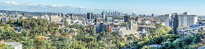 Photograph - View From The Hollywood Hills by Ike Krieger