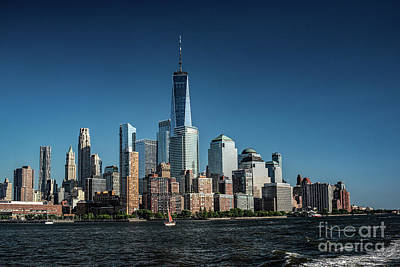 Photograph - View From The Hudson by Judy Wolinsky