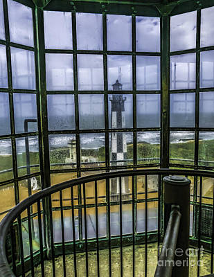Cape Henry Lighthouse Photograph - View From The Lighthouse by Nick Zelinsky
