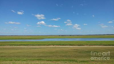 Photograph - View From The Morganza Spillway by Susan Bordelon