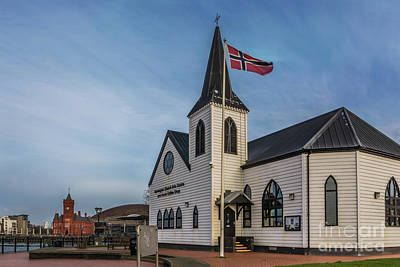 View From The Norwegian Church Print by Steve Purnell