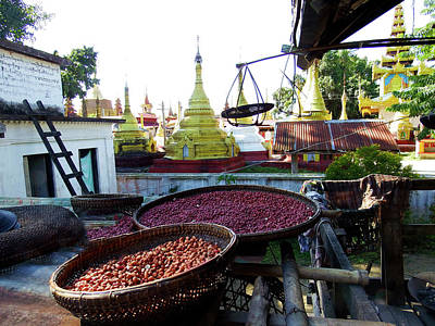 Photograph - View From The Nunnery, Myanmar by Kurt Van Wagner