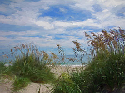 Aromatherapy Oils - View from the Outer Banks Dunes by Francis Sullivan