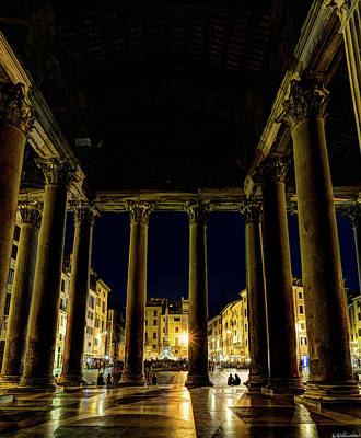 Photograph - View From The Pantheon Gates by Weston Westmoreland