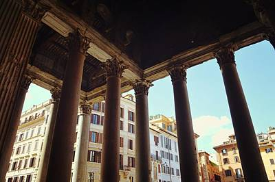 Photograph - View From The Pantheon by JAMART Photography