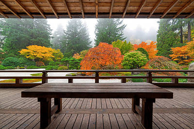 Landscape Photograph - View From The Pavilion by David Gn