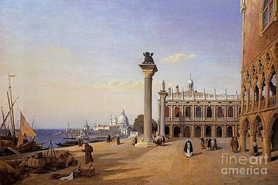 Kingdom Painting - View From The Riva Degli by MotionAge Designs