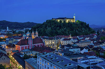 Photograph - View From The Skyscraper #2 - Slovenia by Stuart Litoff