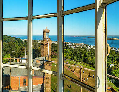 Photograph - View From The South Navesink Tower by Nick Zelinsky