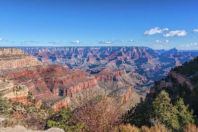 Photograph - View From The South Rim by John M Bailey