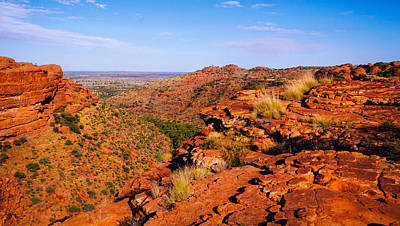 Photograph - View From The South Rim - Kings Canyon, Northern Territory, Australia by Lexa Harpell