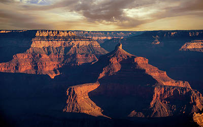 View From The South Rim Of Grand Canyon Art Print by Ed Roth