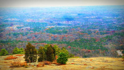 Stonewall Jackson Photograph - View From The Top Of Stone Mountain by Dan Sproul