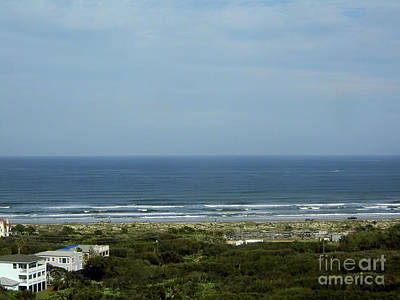 Photograph - View From The Top Of The Lighthouse by D Hackett