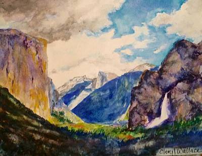 El Capitan Painting - View From The Tunnel by Cheryl Wallace