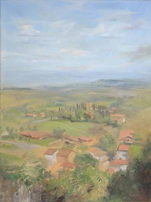 Painting - View From The Window by Thimgan Hayden