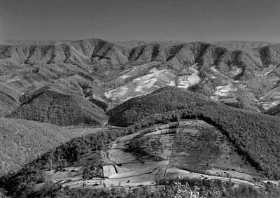 Photograph - 143553-view From Top Of Spruce Knob  by Ed  Cooper Photography