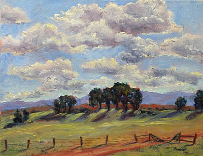 Painting - Saratoga Country by Jill Musser