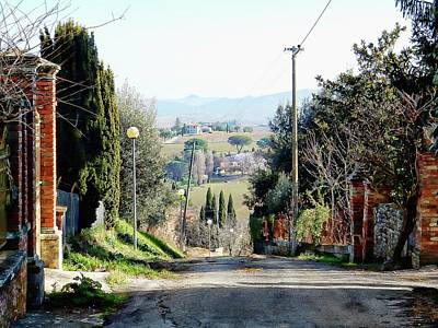 Photograph - View From Vaiano Towards Panicale by Dorothy Berry-Lound