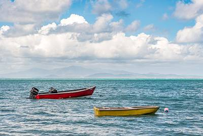 Vieques Photograph - View From Vieques by Tim Sullivan