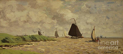Maastricht Painting - View From Voorzan by Claude Monet